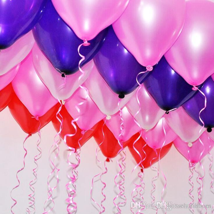100pcs Wedding Decoration Balloon Romantic Christmas Gift Birthday Party Decor Balloons