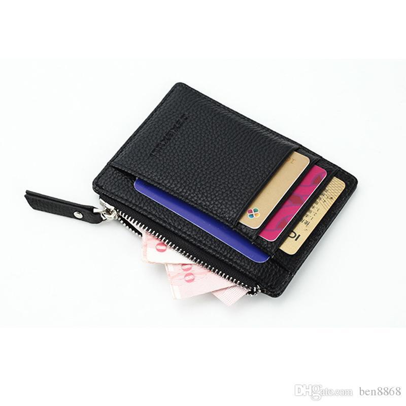 829ae67e71f02 Erkek / Bayan Mini KIMLIK Kartı Sahipleri İş Kredi Kartı Tutucu PU Deri İnce  Banka Kartı Vaka Organizatör Cüzdan, $3.64 | DHgate.Com'da