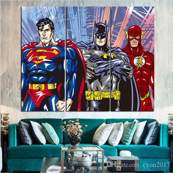 American Hero Oil Painting Decoration Pictures Canvas Art Posters and Prints Canvas Pictures for Living Room No Frame