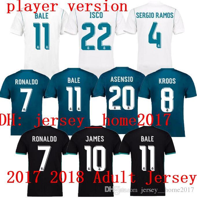 aaf2c6902 2016 keylor navas jersey number 1 home womens real madrid team  real madrid  7 rual away short sleeves mens adults 2016 2017 club soccer jerseys