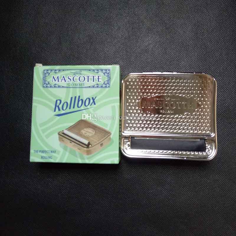 Автоматическая коробка ролика табака размер 92*82*20мм коробки металла случая нержавеющей стали машины завальцовки крена сигареты коробки ролика табака с розничной коробкой большой