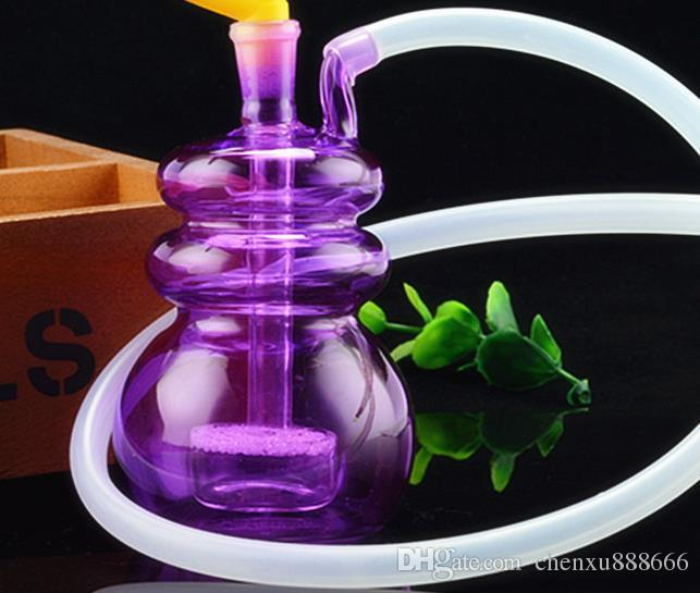 Komik dilsiz filtre Nargile, pot aksesuarları göndermek, cam bong, cam nargile, sigara, renk stil rastgele teslimat