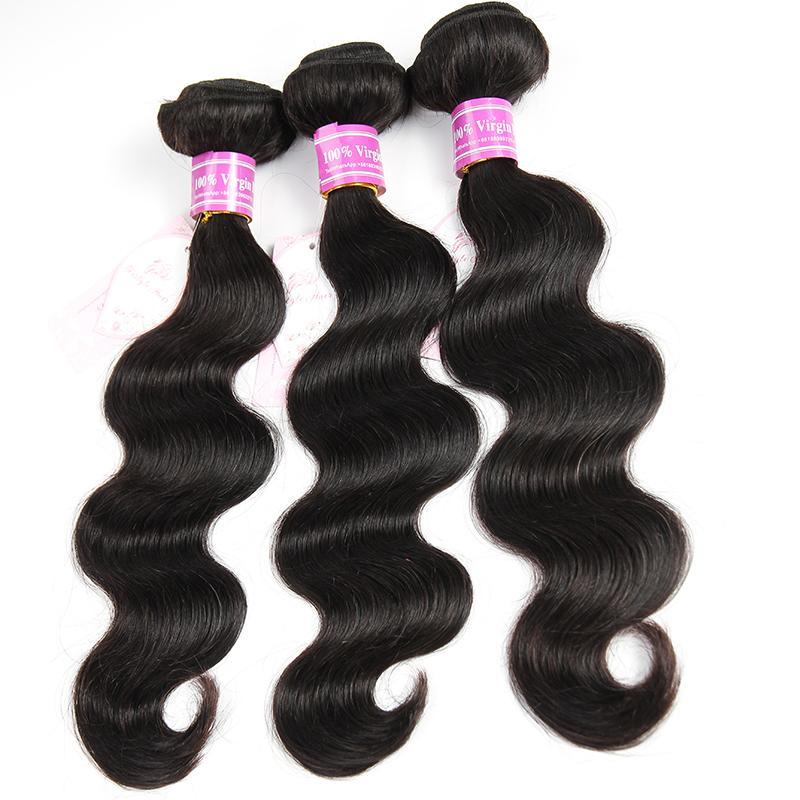 Bemiss Professional Supplier Brazilian Malaysian Indian Peruvian Cambodian Mongolian Virgin Human Hair Weaves Body Wave Unprocessed Bundles
