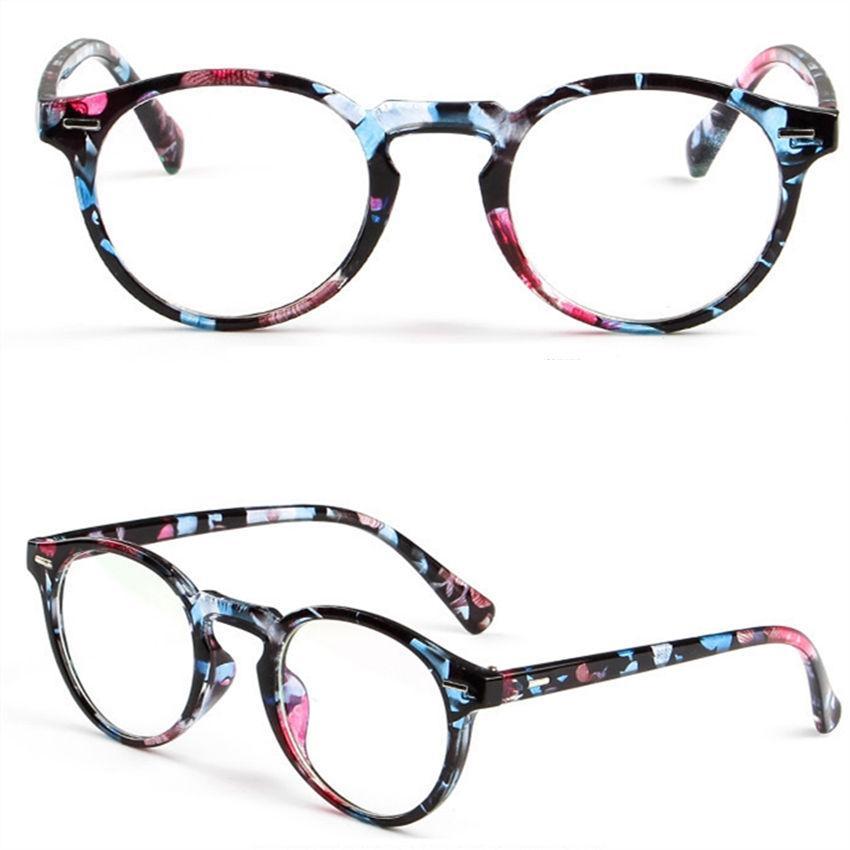 2018 Wholesale Trendy Glasses Optical Print Glasses Frame Clear ...