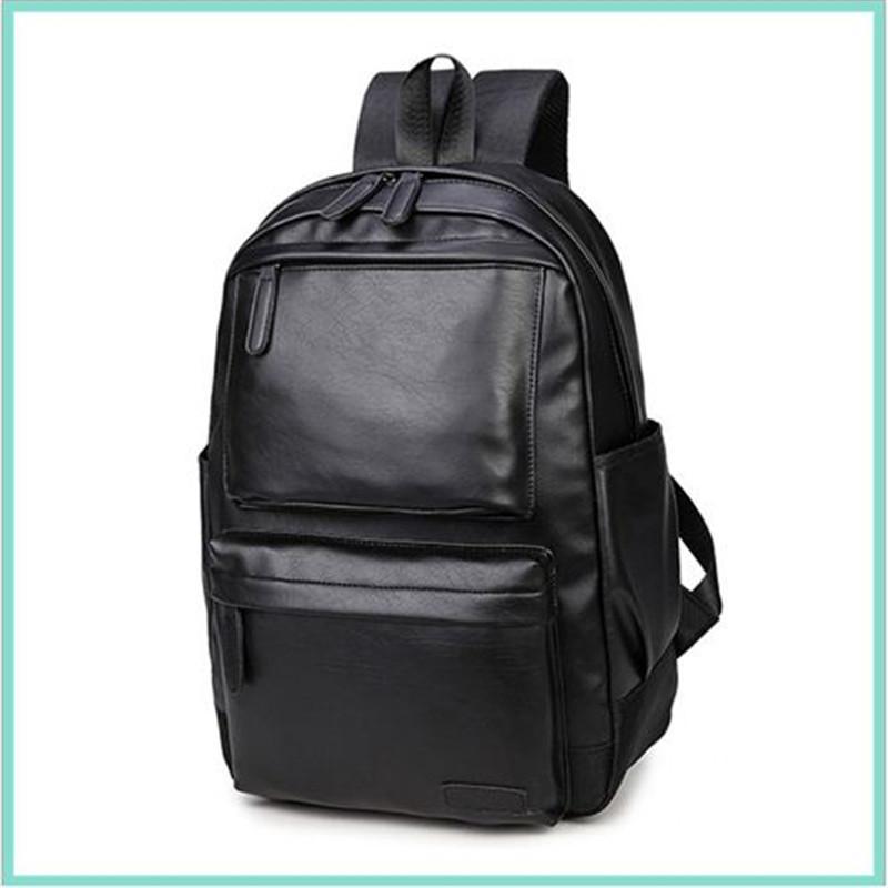 Mode hommes en cuir nouveaux styles sacs Sac À Dos Pour Femmes hommes sacs à dos sacs sports en plein air Sac À Dos Unisexe Sacs D'école sur 27
