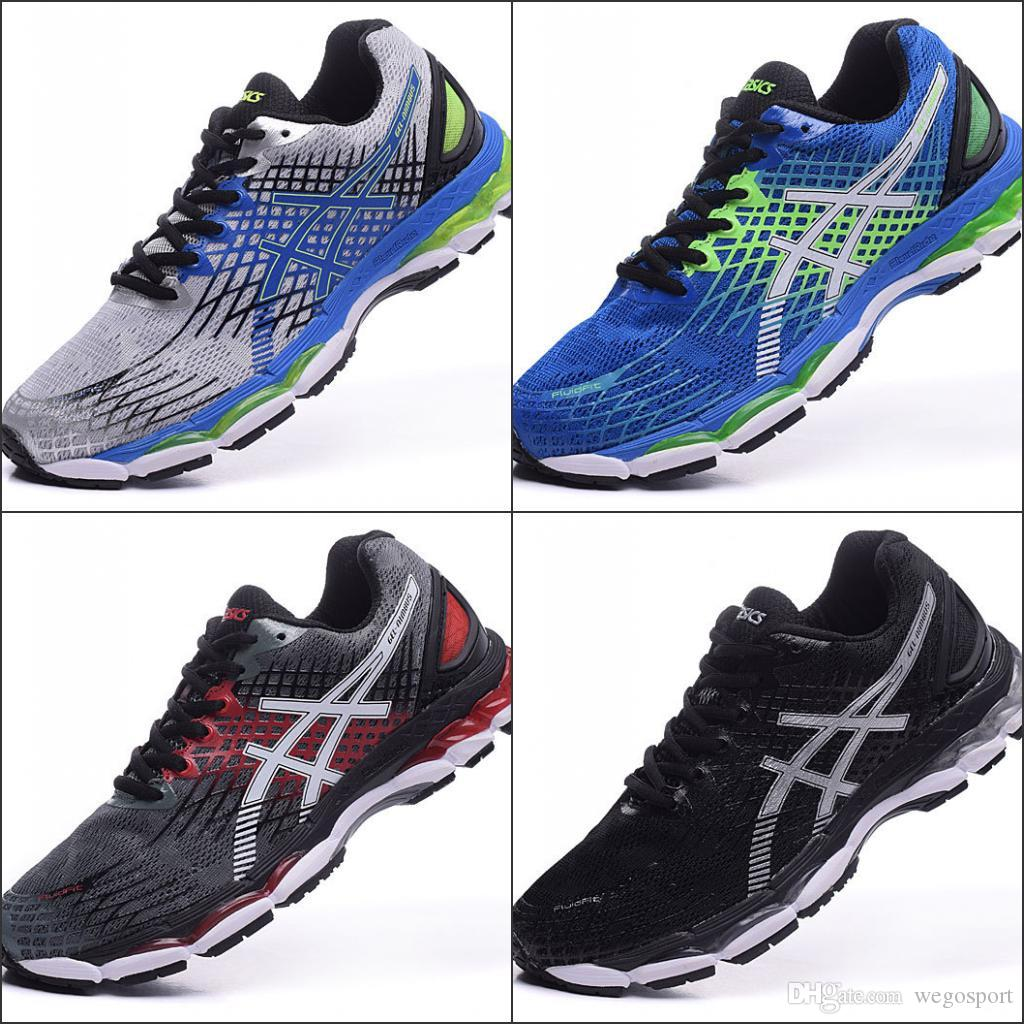 2018 Wholesale Price New Style Asics Nimbus17 Running Shoes Men Shoes  Comfortable Discount Sports Shoes Sneakers Eur 36 45 UK 2019 From  Wegosport 28079640c2f5