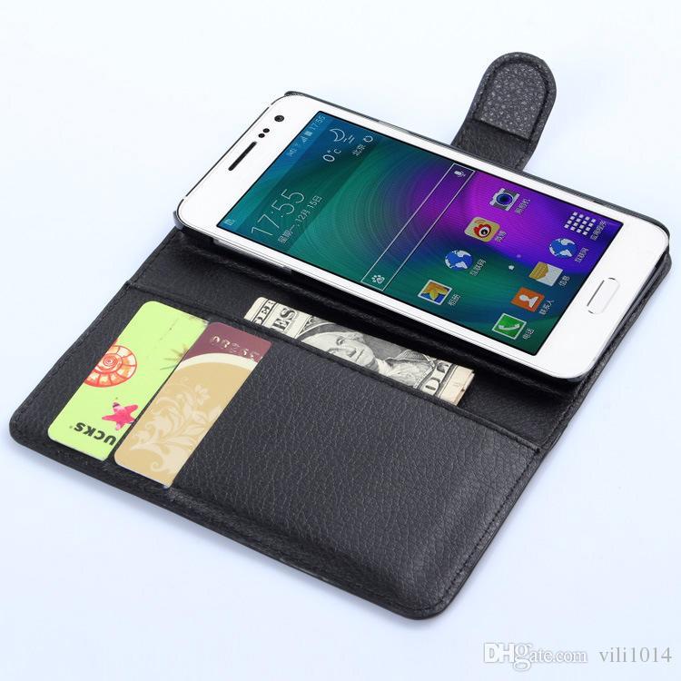 Custodia Portafoglio in Pelle con Custodia Samsung Galaxy S4 mini S5 S6 Attiva Custodia A8 con Porta Carta con Fotocamera