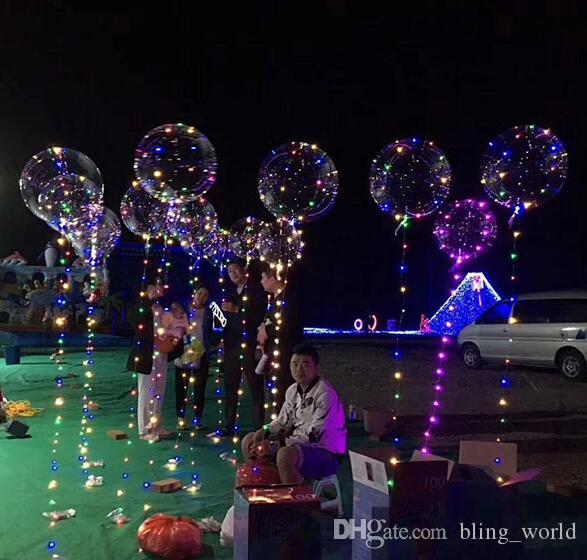 led string lights 18inch helium balloons led light christmas halloween decoration 3m 30 led lights wedding party supplies yw218 christmas house decorations