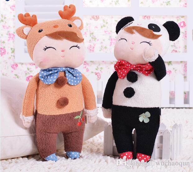 30cm Angela Lovely Stuffed Cloth Metoo Rabbit Doll Christmas Girl Children Gift Kids Pig Plush Rilakkuma Toys S15 Beanie Boos Large Bear