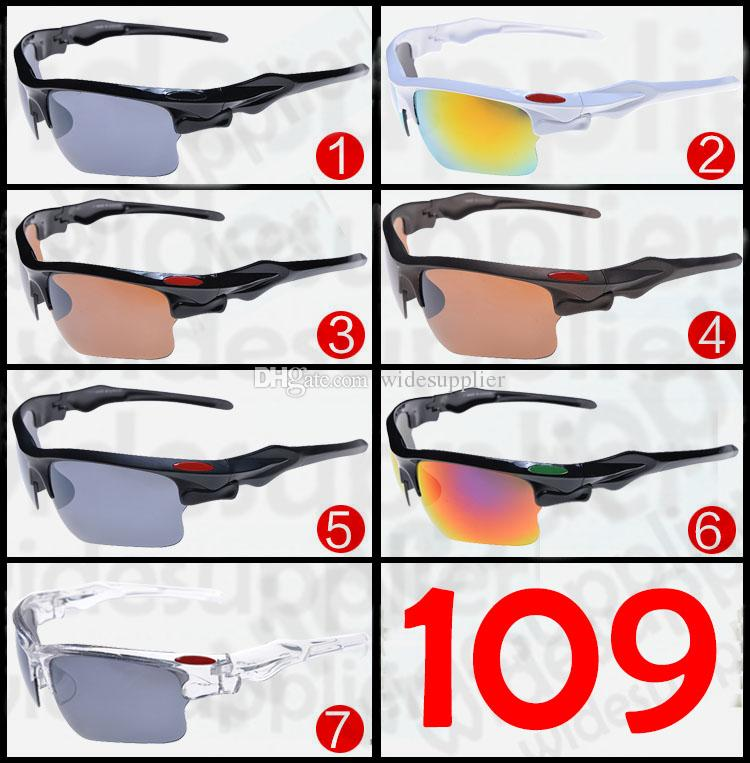 2017 Popular Sunglasses Cool Brand New Designer Sunglasses for Men and Women Outdoor Sport Cycling SUN Glass Eyewear 7 colors Cheap Eyeglass