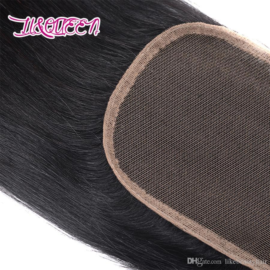 Weaves closure 인간의 머리카락 스트레이트 4x4 레이스 클로저 몽골어 버진 헤어 온라인 싸구려 clousures dhgate의 인기 상품 liqueen hair에서