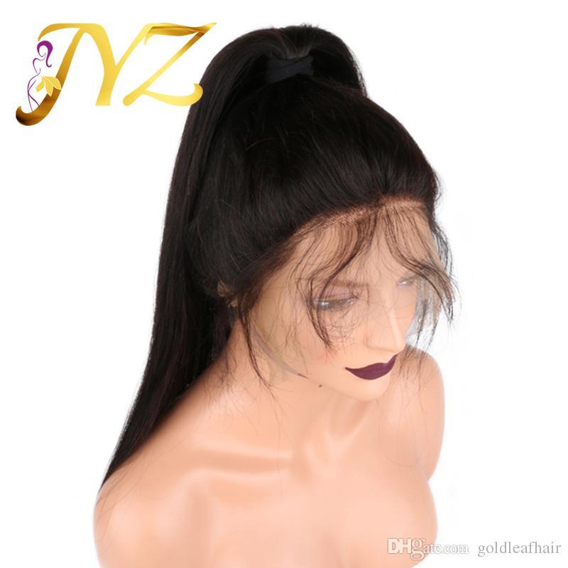 Parrucche piene naturali del merletto delle parrucche della parrucca anteriore del pizzo di prezzi di fabbrica