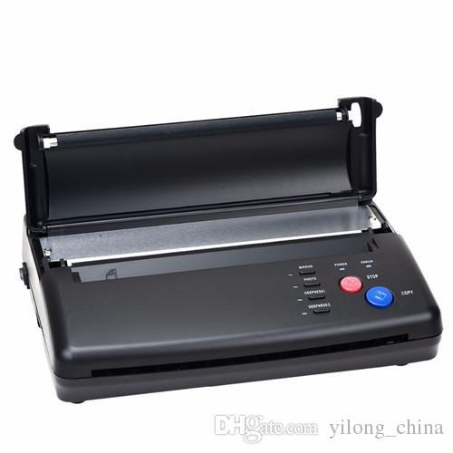 Yilong رسم الوشم تصميم الوشم الحرارية استنسل صانع ناسخة آلة الوشم نقل الطابعة هدية مجانية ورقة نقل شحن مجاني