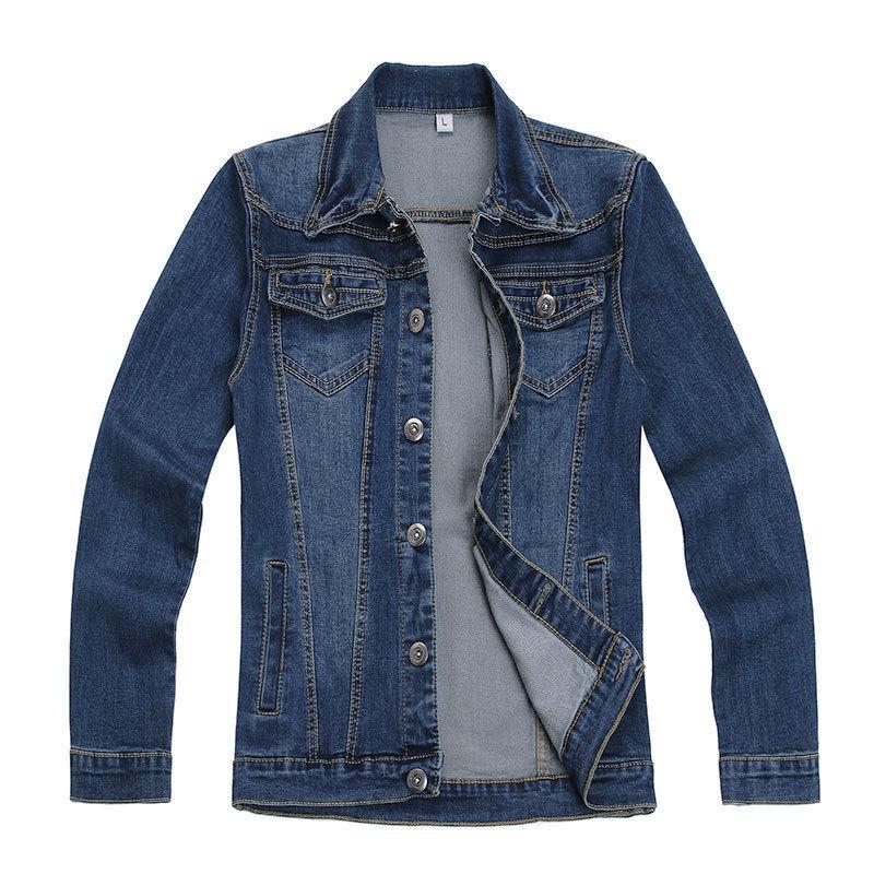 Wholesale Mens Fashion Jean Jacket Designs Skinny Mens Jackets ...