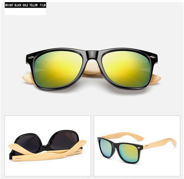 MOQ=10 летние мужские радиационные бамбуковые солнцезащитные очки велоспорт очки вождения очки женщина moso бамбук вождения солнцезащитные очки 22 цветов бесплатно Ши