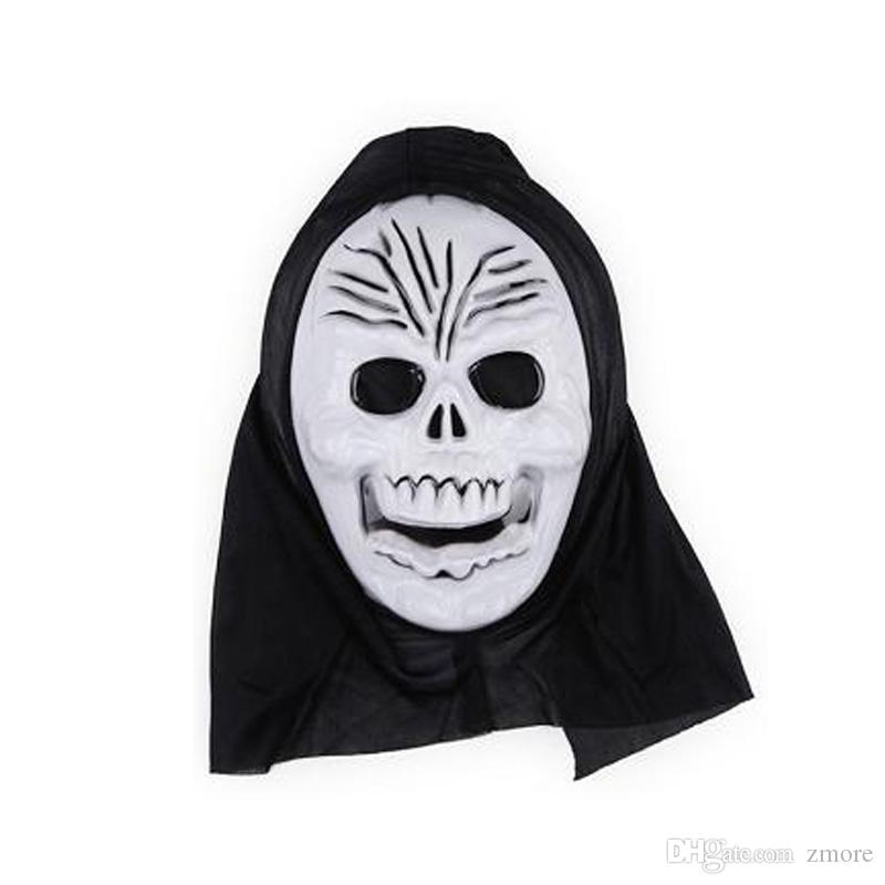 Terrorist Masks Halloween Horror Ghost Screaming Skeleton Halloween grimace mask Skull Mask Make up the party Wholesale Free Shi