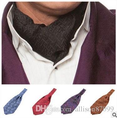 Acheter Foulard Homme Ascot Cravate Cravate Paisley Gentle Fashion Cravate  Homme Jacquard Polyester Ascot Multi Couleurs 2016 Européen De  4.11 Du ... 89f8db4554f
