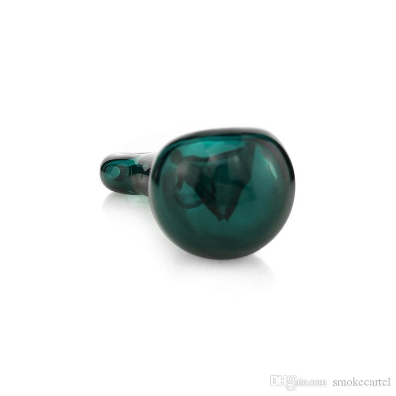 Mini 3,7 Zoll Tasche Handwerk Glas Ölbrenner Rohre Rauchen Handpfeife Dick Glaslöffel