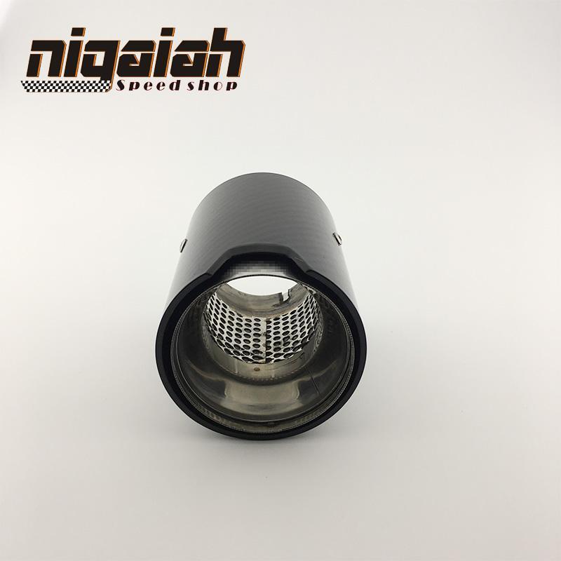 Carbon Fiber muffler Exhaust For M Performance exhaust pipe M2 F87 M3 F80  M4 F82 F83 M5 F10 M6 F12 F13 X5M X6M