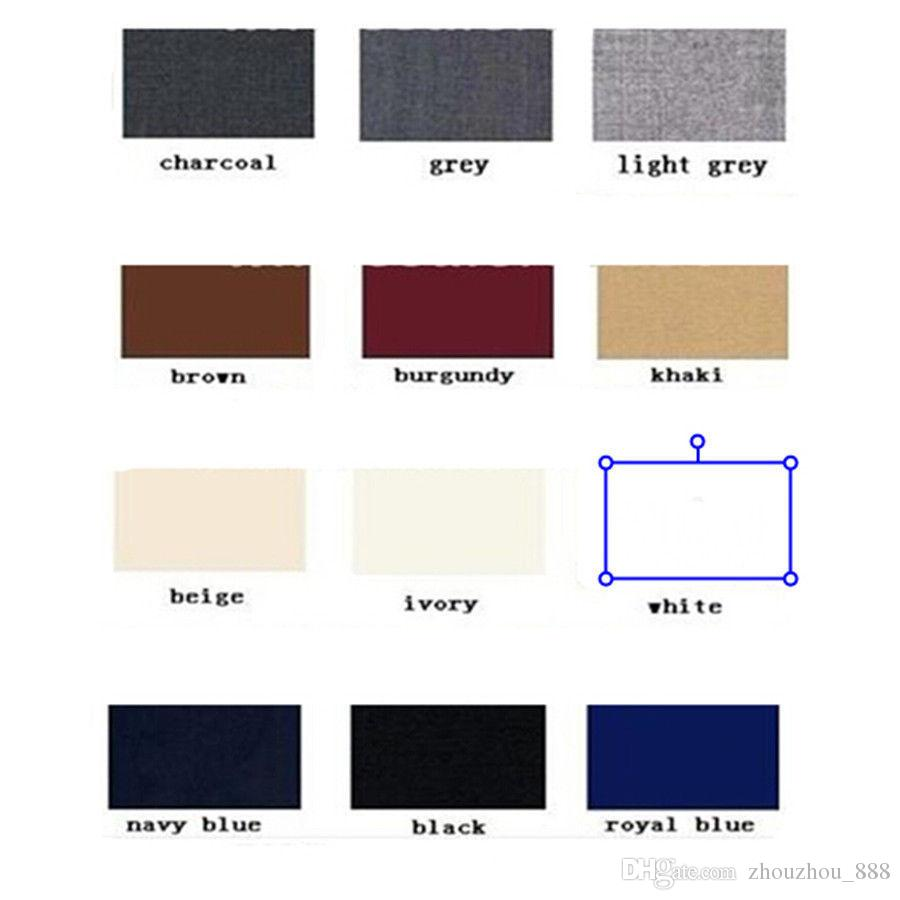 New Light Grey Groom Tuxedos Two Buttons Best Man Notch Lapel Groomsman Men WeddingDinner Suits BridegroomJacket+Pants+Tie+Vest