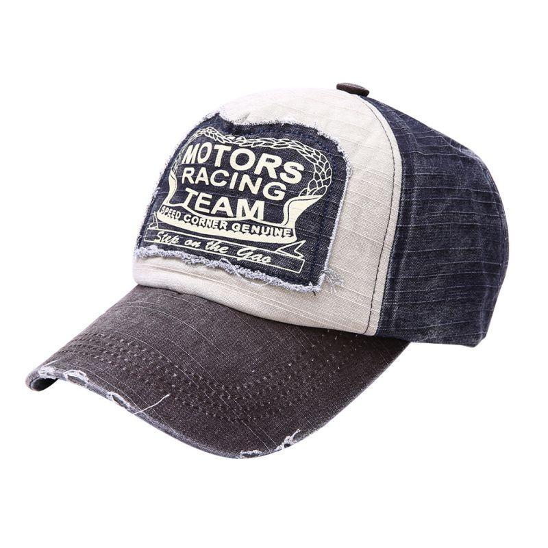 Wholesale- Casual Unisex Fashion Cap Hip Hop Snapback Hats Wash Caps ... 1548dde1aee1