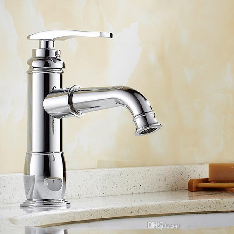 Factory Wholesale ! Sink Faucets ,Contemporary with Chrome Single ...