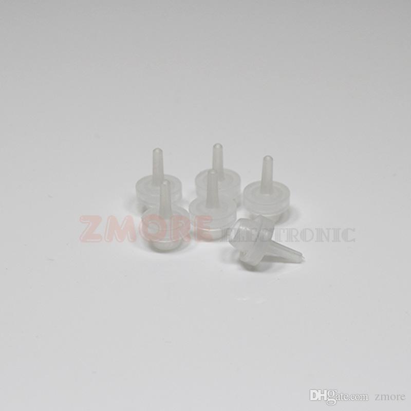 Für Vape Oil E Cig Flüssigkeitsflaschen 5ml 10ml 15ml 20ml 30ml 50ml Leere Pipette LDPE Kunststoffkappen Lange, dünne Nadelspitzen