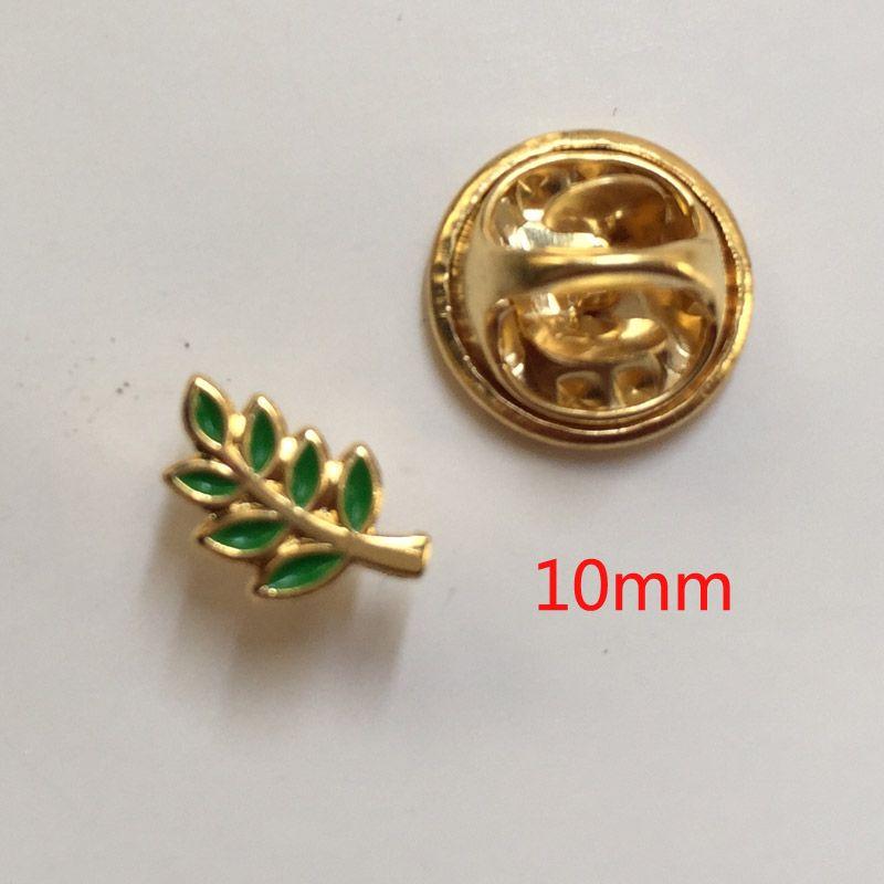 Elegant 10mm Small Enamel Brooch And Pins Badge Green Leaf Acacia Sprig Masonic  Regalia Freemason Lapel Pin Akasha Gift For Fellow Acacia Sprig Masonic  Akasha Leaf ...