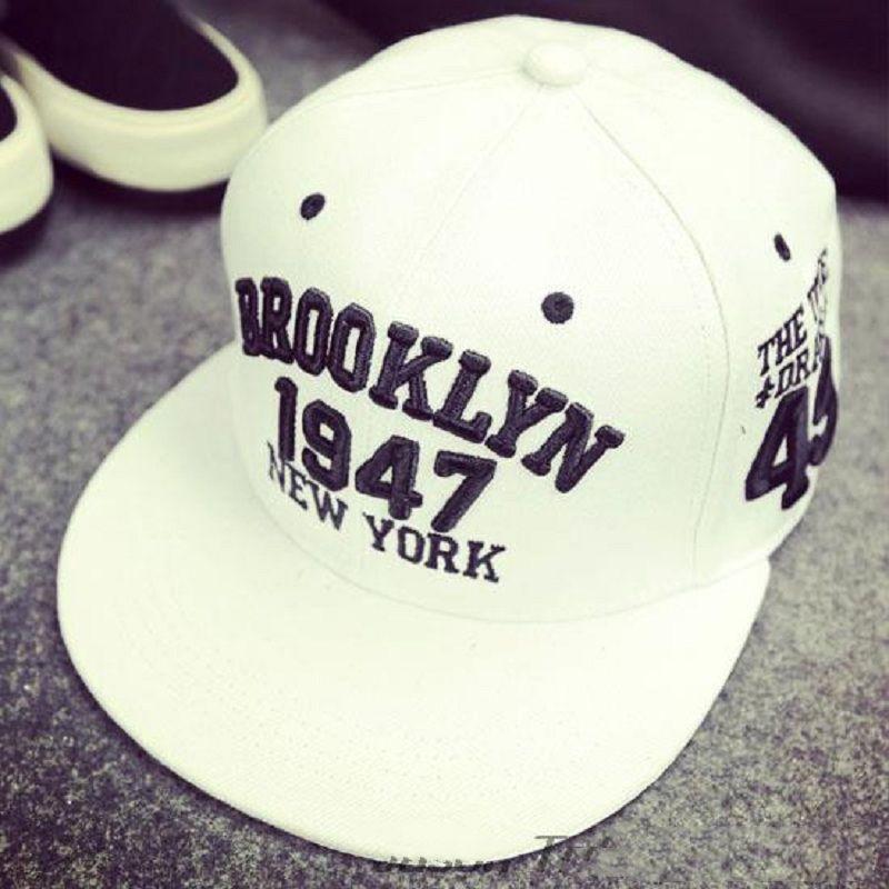 Compre Sombrero De Gorra De Béisbol De Estilo Brooklyn De 1947 Sombrero De  Deporte Gorras Snapback Gorras Planas Sombreros De Hip Hop De Nueva York ... dfd23152abd