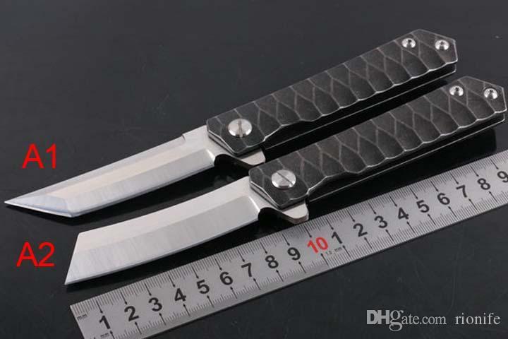 Новый Flipper нож выживания складной нож лезвия D2 сатин лезвия сталь ручка EDC карманные Fast Open ножи шарика подшипника Шайба С замком