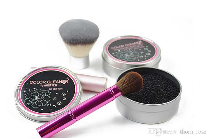 Makeup Brush Cleaning Wash Artifact Dry Sponge Color
