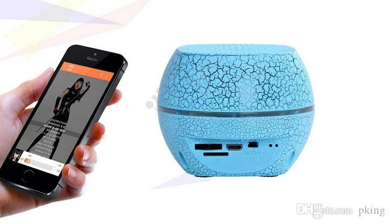 Новые высокое качество Mini G2000 LED Bluetooth динамик стерео портативный сабвуфер красочные LED Беспроводной bluetooth динамик Soundbox