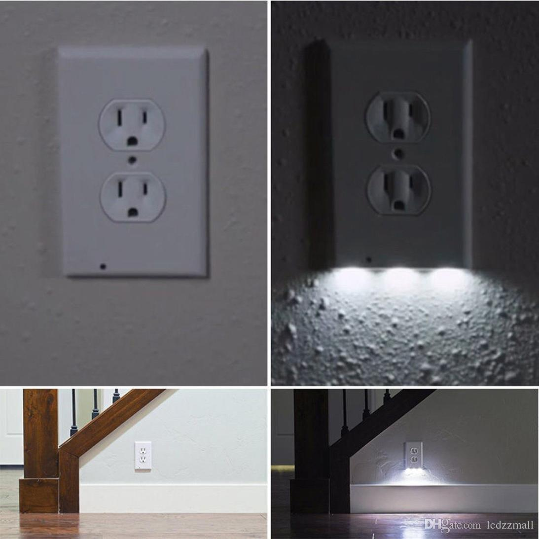 2018 led wall outlet night light plug cover led night angel wall 2018 led wall outlet night light plug cover led night angel wall outlet face hallway bathroom light white from ledzzmall 453 dhgate mozeypictures Image collections