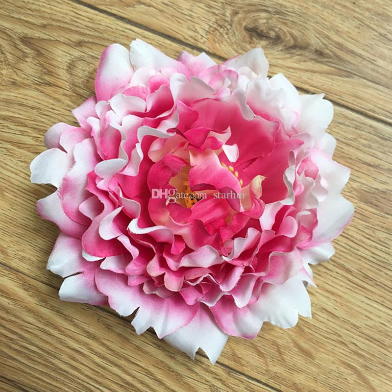 Künstliche blumen seide pfingstrose blume köpfe party hochzeit dekoration lieferungen simulation gefälschte blüte hauptdekorationen 15 cm wx-c03