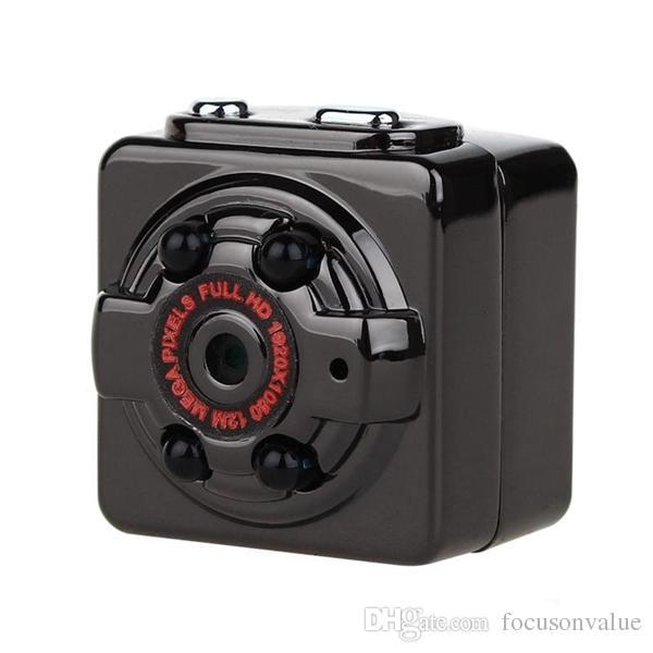 Full HD 1080P night vision Wide Angle Mini DV SQ8 Portable Video Camera Sports DV Car DVR with bracket mini camcorder
