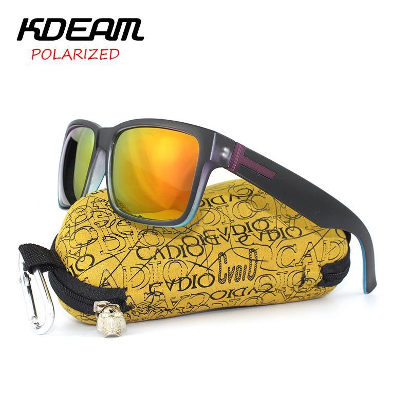 8372c4c3a8b Wholesale KDEAM Newest 2017 Polarized Sunglasses Men Exercise Goggles Women  Polaroid Sun Glasses HD Lens With Box Lentes De Sol Eyewear Designer  Sunglasses ...