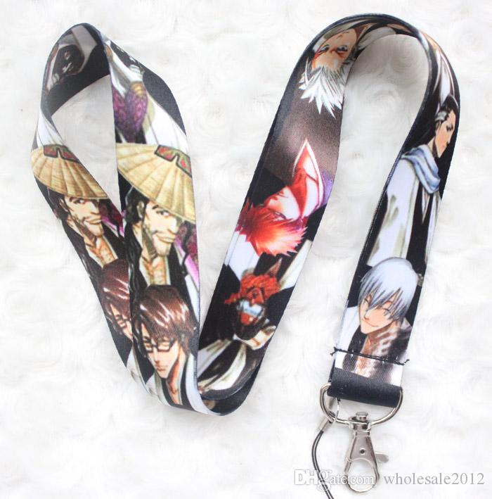 Hot sale of new mobile phone accessories Japanese anime BLEACH Lanyard  Mobile phone chain, Shiping wholesale 10pcs free shipping S#78