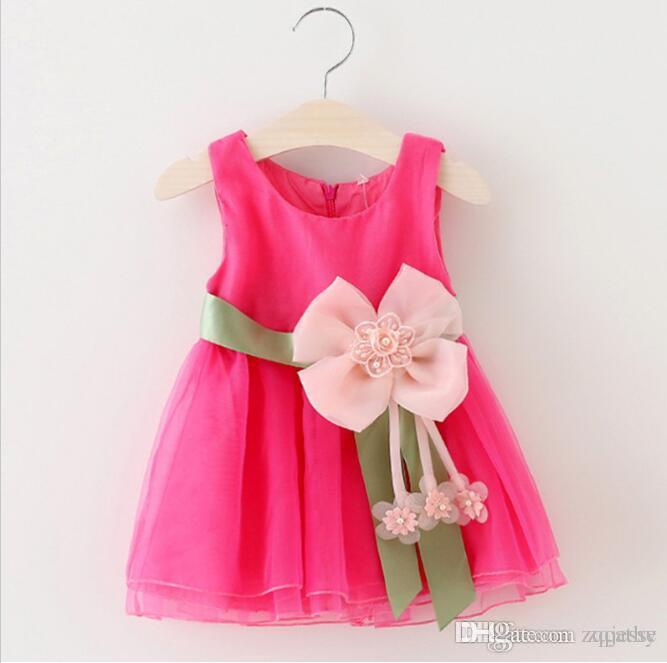 Baby Dresses with Sashes