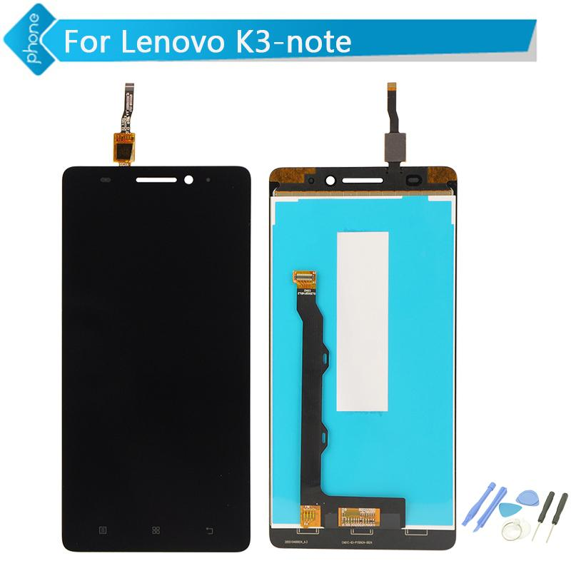 Wholesale-Original For Lenovo K3 Note LCD Display Touch Screen Digitizer  for Lenovo K50 Assembly Tools