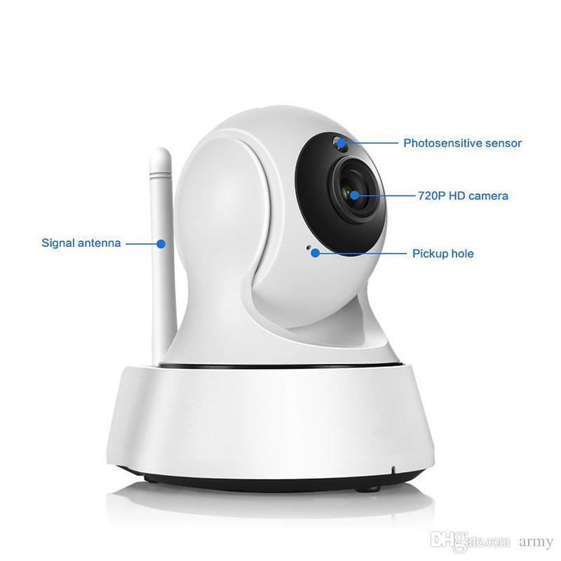أحدث أمن الوطن اللاسلكية البسيطة IP كاميرا مراقبة كاميرا wifi 720P للرؤية الليلية cctv كاميرا الطفل مراقب