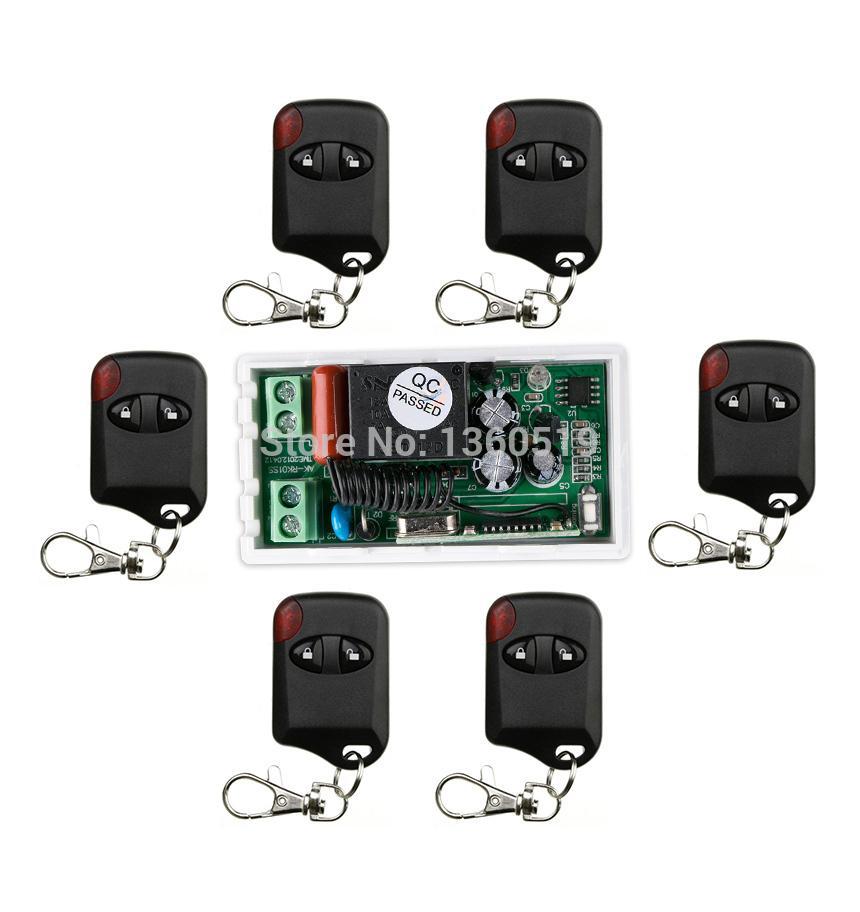 Купить Оптом Оптовая Продажа <b>AC220V 10A 1CH</b> 315 МГц / 433 ...