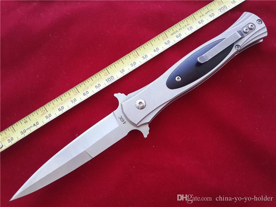 Sog FIELDER G707 AUTO Lâmina dobrável faca 8Cr14Mov Aço Stonewash Punhal Cocobolo Handle EDC faca de bolso faca de sobrevivência