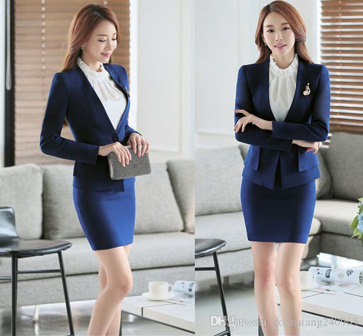 2018 Custom Fashion Ladies Formal Suits Blazer Designs Elegant Lady
