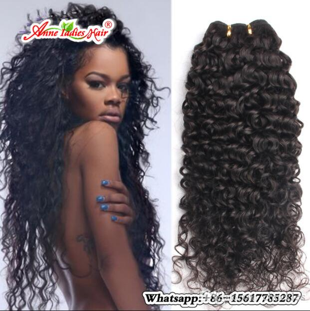 Malaysian Curly Hair Afro Kinky Human Hair Weave Bundles Natural
