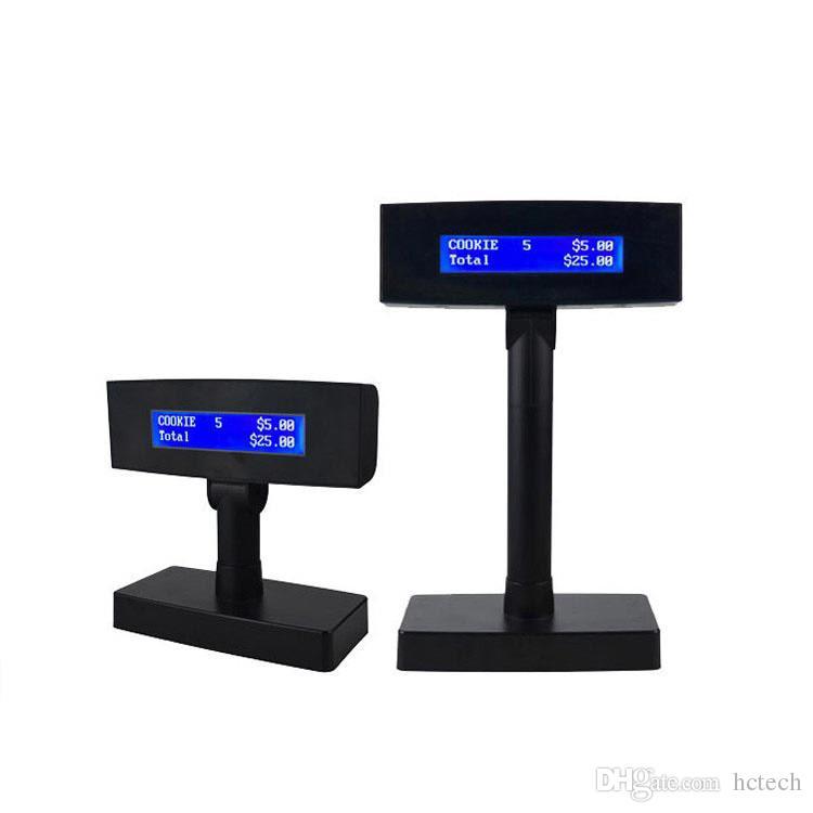 LCD210B Window Display Serial Porta USB Para Mostrar Preço Quantidade Valor Informações Csutomer Pole