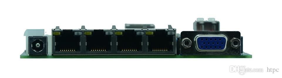 Intel Bay trail SOC platform firewall Fanless motherboard J1900 with 1*SO DDRIII support 1600/1333MHz DDR3L/1.35V