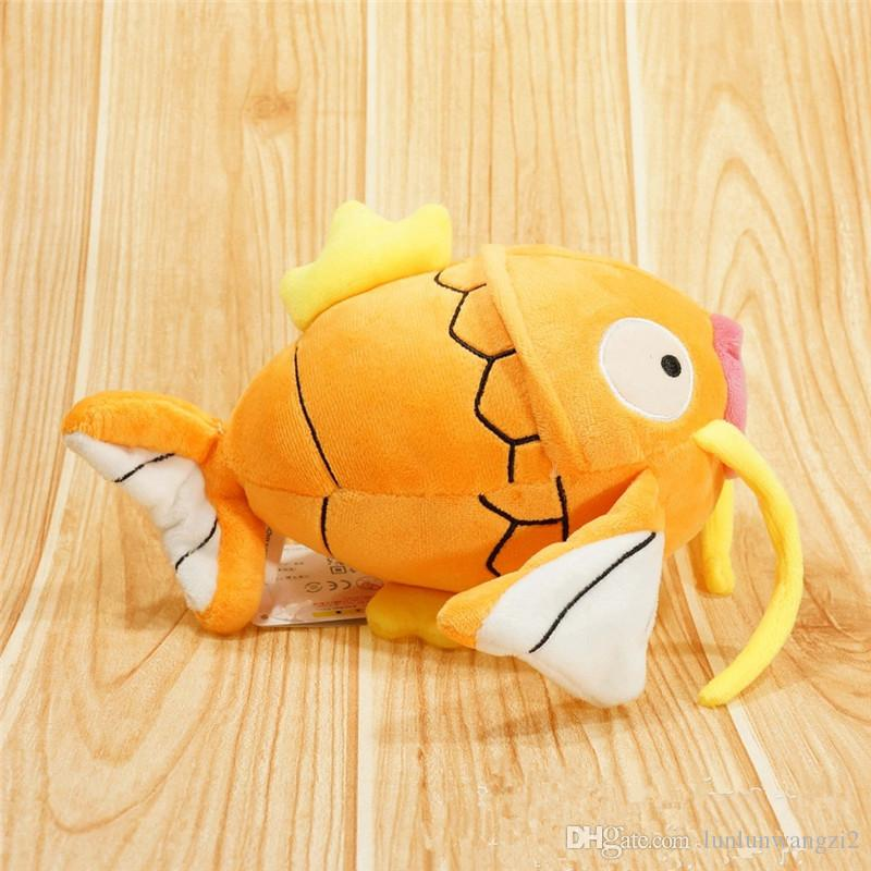 New Magikarp Orange Fish Peluche Toy 20CM