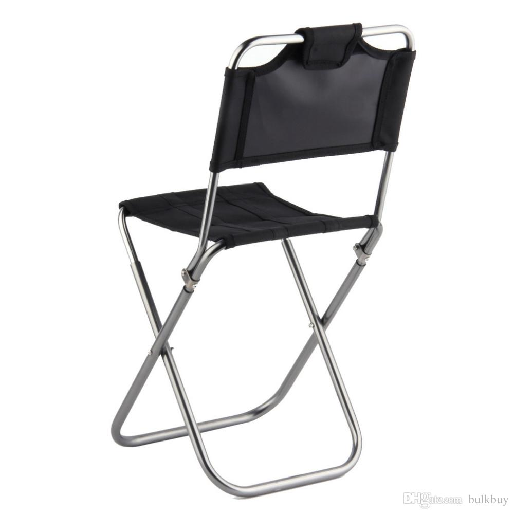 Incredible Js 003A Portable Folding Outdoor Fishing Camping Chair Aluminum Oxford Cloth Chair With Backrest Carry Bag Black Wholesale Patio Garden Furniture Pdpeps Interior Chair Design Pdpepsorg