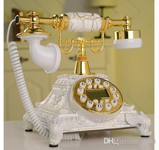 Decoration Arts crafts home Diana creative process / antique European style ancient marble Telephone Phone creative