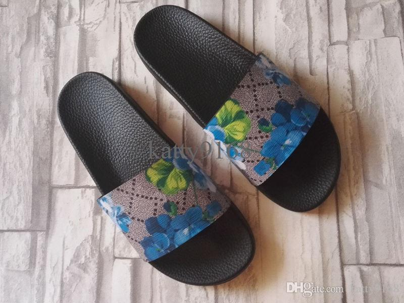 c33a1f8328ea46 Classical Mens   Womens Flower Slippers For Indoor And Outdoor Sale Slide  Sandals At Cheap Price In Dress Shoes Wedge Shoes From Katty9168